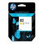 HP 82 Yellow Ink Cartridge CH566A