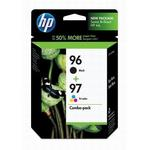 HP 96/97 Black/Tri-Color Inkjet Combo Pack C9353FN
