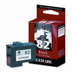 Lexmark #82 Black Print Cartridge