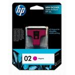 HP 02 Magenta Ink Print Cartridge C8772WN