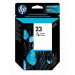 HP 23 Tri-Color Inkjet Print Cartridge C1823D