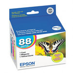 Epson T088520 Color Ink Cartridge 3-Pack