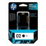 HP 02 Black Ink Print Cartridge C8721WN