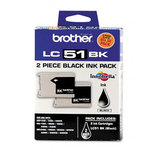 Brother LC512PKS Black Ink Cartridge (2-pack)