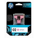 HP 02 Light Magenta Ink Print Cartridge C8775WN