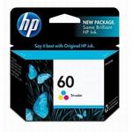 HP 60 Tri-Color Ink Cartridge CC643WN