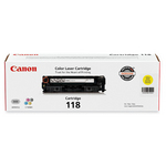Canon 2659B001AA Cartridge 118 Yellow Toner