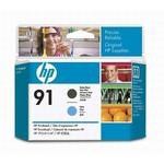 HP 91 Matte Black/Cyan Printhead C9460A