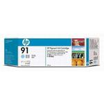 HP 91 Pigment Light Cyan Ink Cartridge C9470A