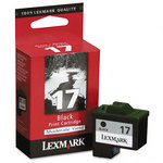 Lexmark 10N0217 #17 Moderate Use Black Cartridge