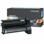 Lexmark C780A1KG Black Toner Cartridge