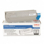 OKI 43324404 High Yield Black Toner Cartridge