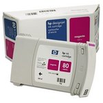 HP 80 High Yield Magenta Ink Cartridge C4847A