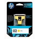 HP 02 Yellow Ink Print Cartridge C8773WN