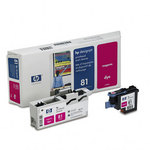 HP 81 Magenta UV Printhead & Cleaner C4952A