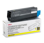OKI 42127401 High Yield Yellow Toner Cartridge