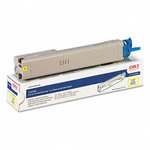 OKI 43459301 High Yield Yellow Toner Cartridge