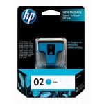 HP 02 Cyan Ink Print Cartridge C8771WN
