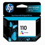 HP 110+ Tri-Color Inkjet Cartridge CB304AN