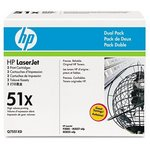 HP Q7551X Toner Cartridge Twin Pack Q7551XD