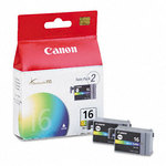 Canon 9818A003AA BCI-16 Color Twin Pack
