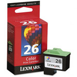 Lexmark #26 Color Print Cartridge