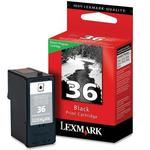 Lexmark #36 Black Print Cartridge