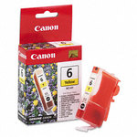 Canon 4708A003 BCI-6Y Yellow Ink Cartridge