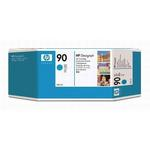 HP 90 Cyan Ink Cartridge C5061A