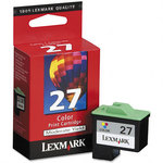 Lexmark #27 Moderate Use Color Print Cartridge