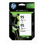 HP 95 Tri-Color Ink Twin Pack CD886FN