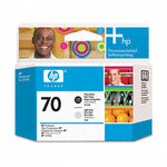 HP 70 Photo Black & Light Gray Printhead C9407A