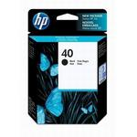 HP 40 Black Inkjet Print Cartridge 51640A