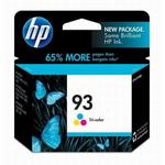 HP 93 Tri-Color Inkjet Cartridge C9361WN