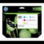 HP 02 5-Color Inkjet Combo Pack