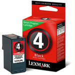 Lexmark #4 Black Print Cartridge
