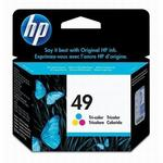 HP 49 Tri-Color Inkjet Print Cartridge 51649A
