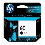 HP 60 Black Ink Cartridge CC640WN