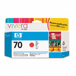 HP 70 Red Ink Cartridge C9456A