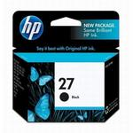 HP 27 Black Inkjet Print Cartridge C8727AN