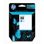 HP 88 Cyan Ink Cartridge C9386AN