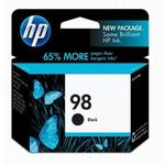 HP 98 Black Inkjet Cartridge C9364WN