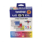 Brother LC513PKS Color 3-PK Ink Cartridges (CMY)