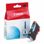 Canon 0621B002 CLI-8C Cyan Ink Cartridge