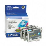 Epson T044520 Color Ink Cartridge 3-Pack (C,M,Y)