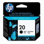 HP 20 Black Inkjet Print Cartridge C6614DN