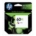 HP 60XL Tri-Color Ink Cartridge CC644WN