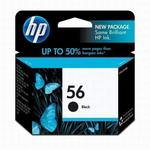 HP 56 Black Inkjet Print Cartridge C6656AN