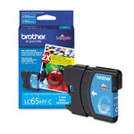 Brother LC65HYC Cyan High Yield Ink Cartridge