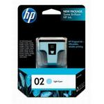 HP 02 Light Cyan Ink Print Cartridge C8774WN
